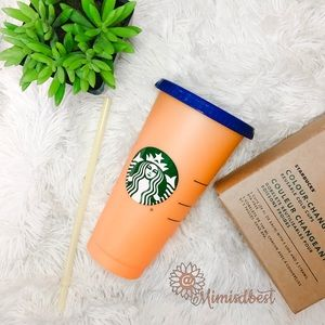 Starbucks color changing tumbler